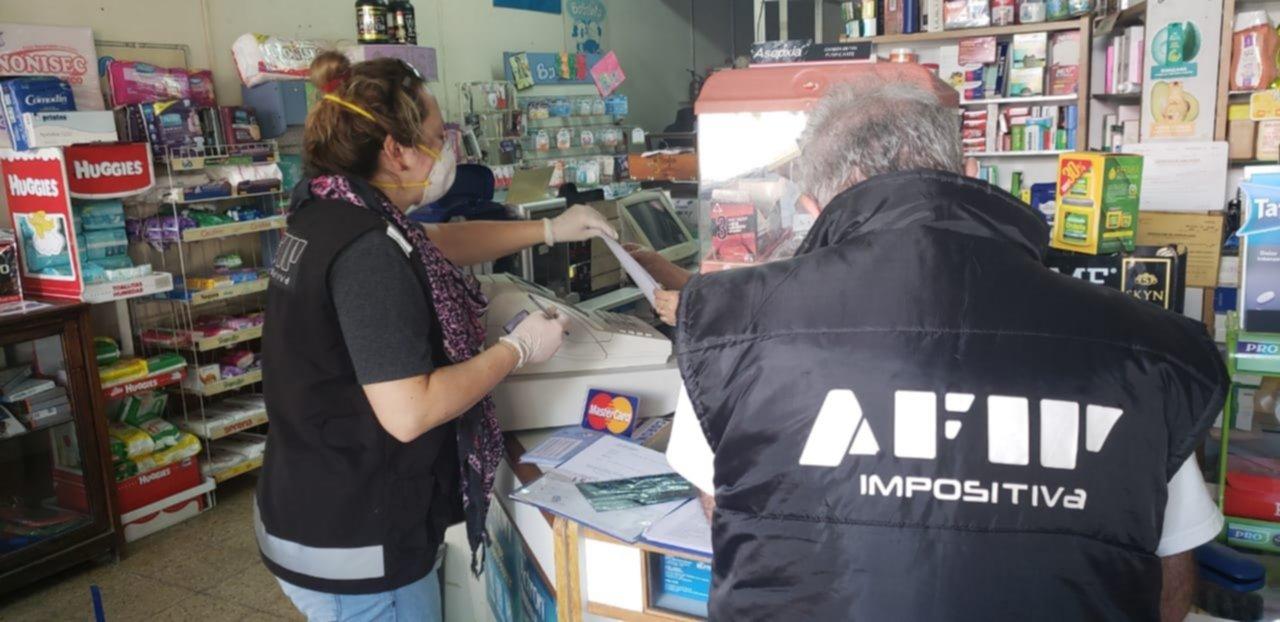 El trabajo voluntario de la AFIP, clave para el control de precios y abastecimiento.