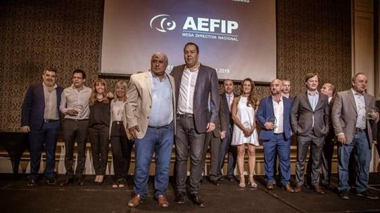 Nueva Conducción AEFIP Mesa Nacional